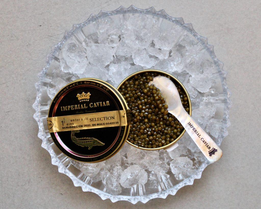 edler Kaviar als Add-on für die Vorspeise